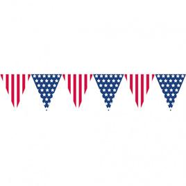 Stars & Stripes pennant bunting