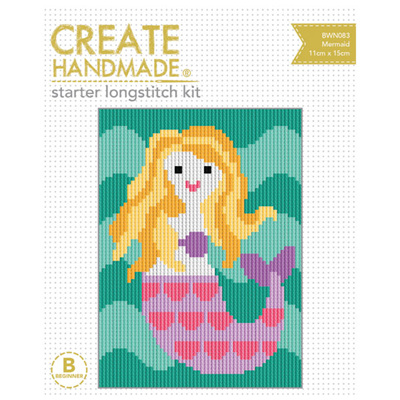 Starter Longstitch Kit - Mermaid