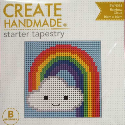 Starter Tapestry - Rainbow Cloud