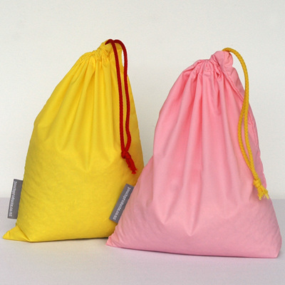 stash pouch 2 pack | one yellow, one pink