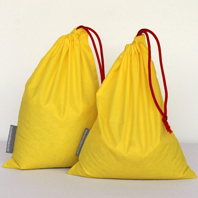 stash pouch 2 pack | two yellow