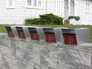 Statesman Stainless Steel Letterbox