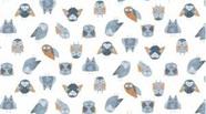 Stay Wild - Owl White 984