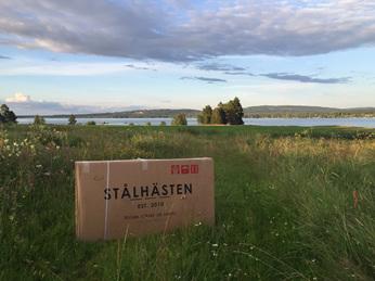 Steel horse box Leksand