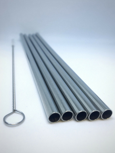 Steel Straws pack of 5