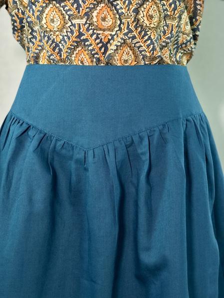 Steel yoke skirt