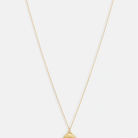 Stella + Gemma Necklace Cockle Shell Gold