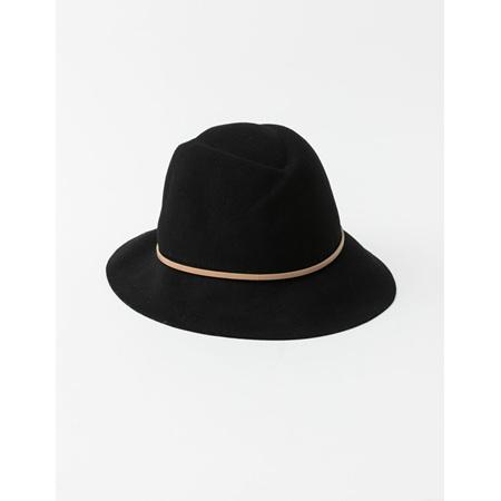 STELLA+GEMMA Wool Hat Black