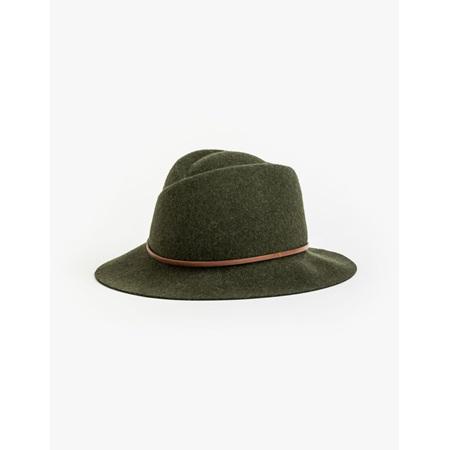 STELLA+GEMMA Wool Hat Khaki