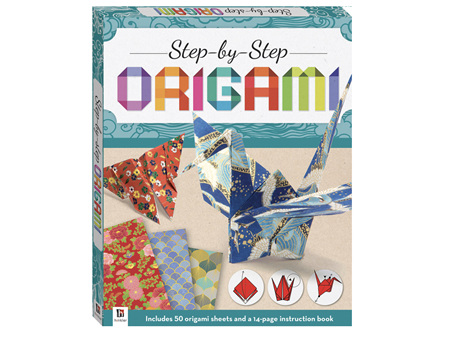 Step by Step Origami Sheets & Book