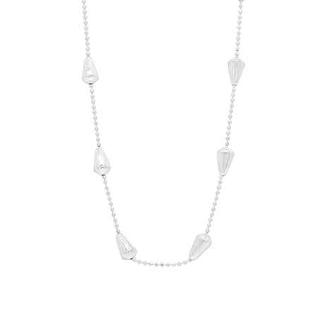 Sterling Silver Bell Detail Necklace