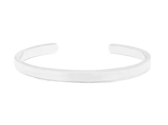 Sterling Silver Engravable Bangle