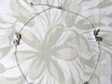 sterling silver fantail necklace