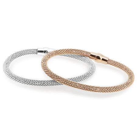 Sterling Silver Magnetic Bracelet