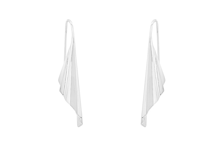 Sterling Silver, Muse Earrings, Whim
