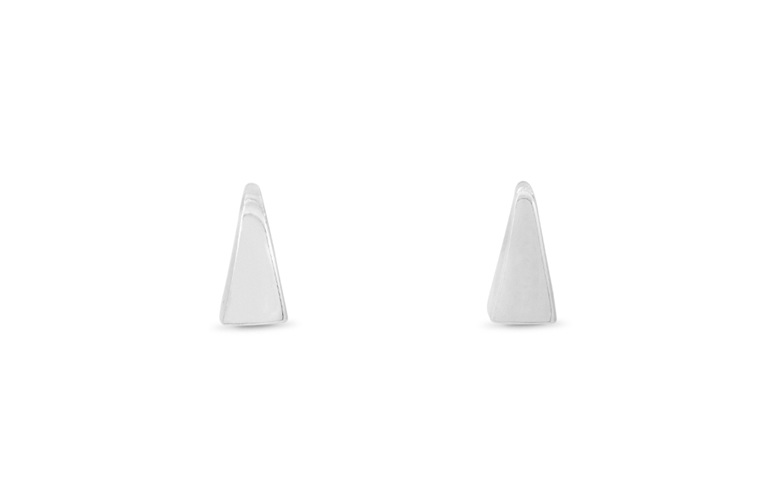 Sterling Silver, Prism, Stud Earrings, Whim
