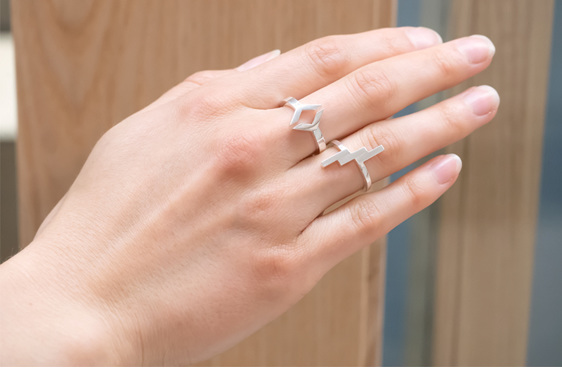 Sterling Silver, Verge, Ring, Whim