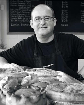 Steven Turner owner of Who Ate All The Pies