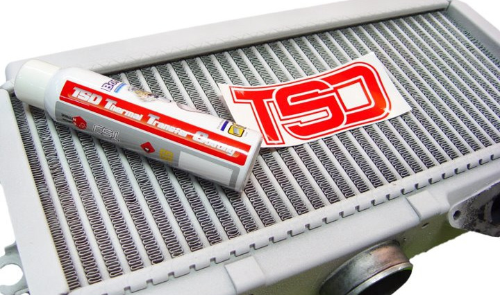 TSD Coated Subaru Intercooler