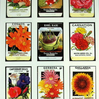 Stickers - Garden Seed Packets