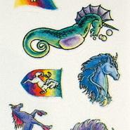 Stickers - Glitter Unicorns