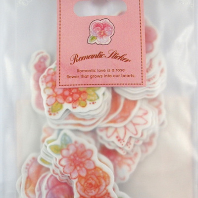 Stickers - Pink Flowers