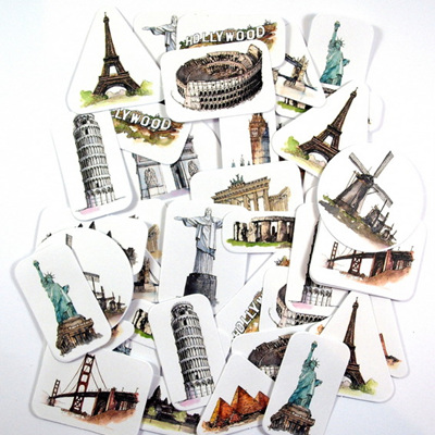 Stickers - Travel Icons