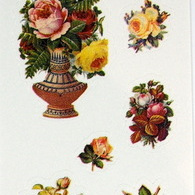 Stickers - Vintage Victoriana Roses
