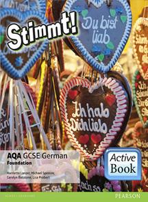 Stimmt! AQA GCSE German Foundation ActiveBook International Subscription