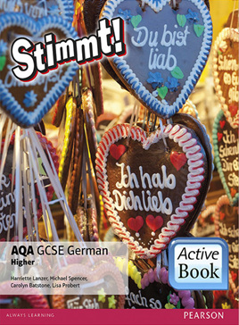 Stimmt! AQA GCSE German Higher ActiveBook International Subscription