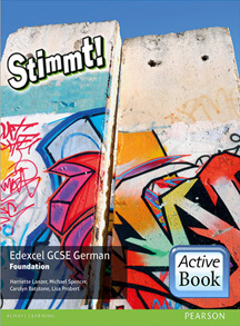 Stimmt!  Edexcel GCSE German Foundation ActiveBook International Subscription