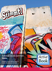 Stimmt! Edexcel GCSE German Higher ActiveBook International Subscription