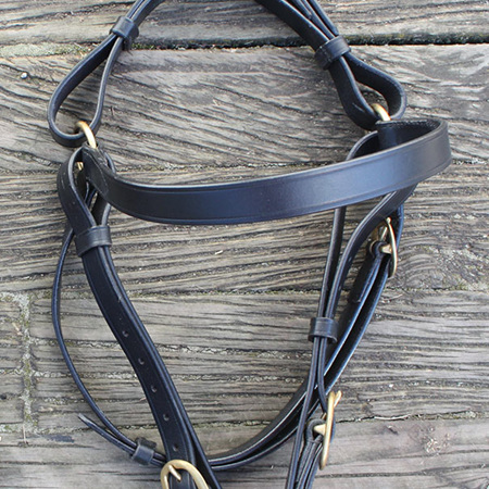 Stockmans Bridle with Plain Browband