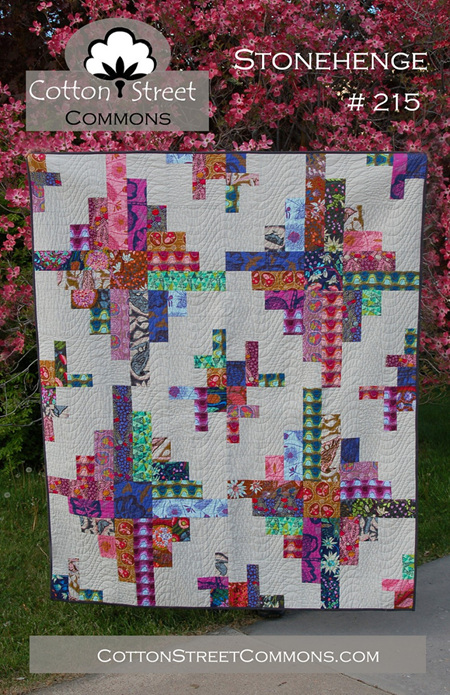 Stonhenge Quilt Pattern from Cotton Street Commons