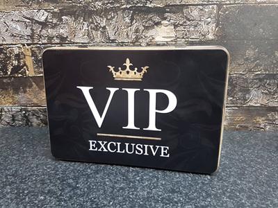 Storage Tin Flat VIP Exclusive