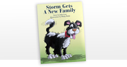 Storm Gets a New family - six copies