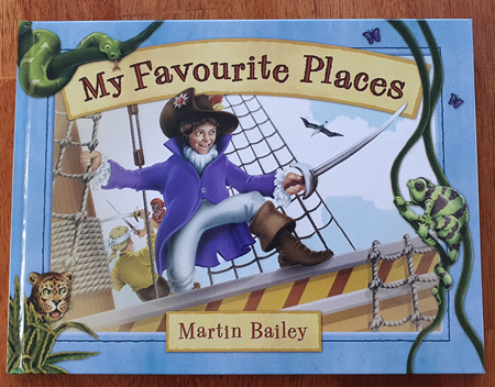 Story Book - My Favourite Places - Hardcover