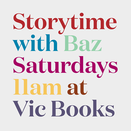 Storytime with Baz