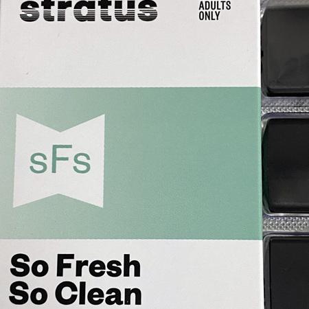 Stratus POD - 4 Pack - So Fresh, So Clean
