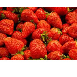Strawberries Spray Free Local 3 Sizes