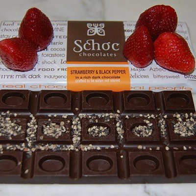 Strawberry & Black Pepper chocolate