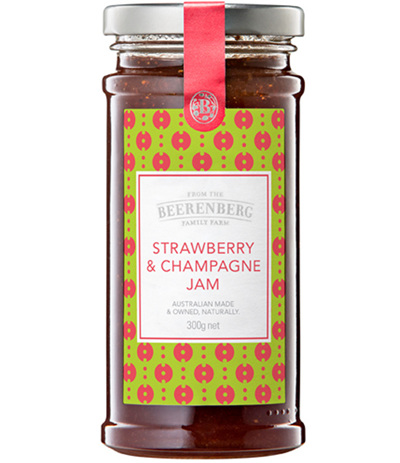 Strawberry & Champagne Jam - 300g