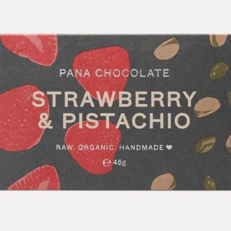 Strawberry & Pistachio Bar
