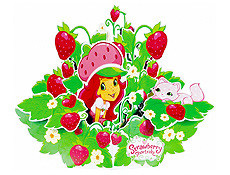 Strawberry Shortcake Centrepiece