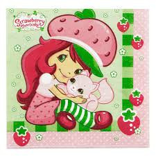 Strawberry Shortcake Napkins x 16