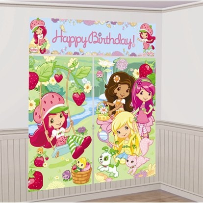 Strawberry Shortcake Wall Decorating Kit