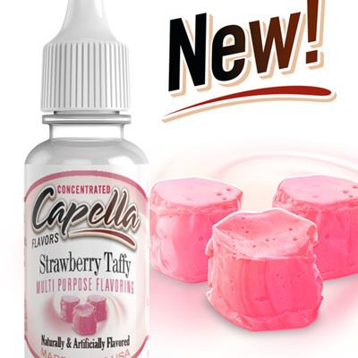 Capella Strawberry Taffy Flavour Concentrate