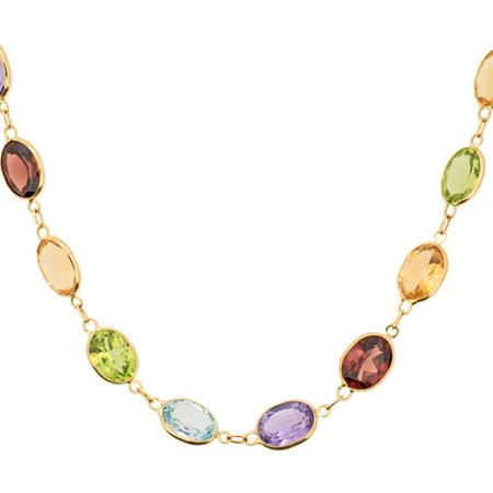 Streak of Colour Necklace