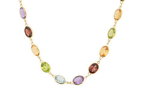 Streak of Colour Necklace