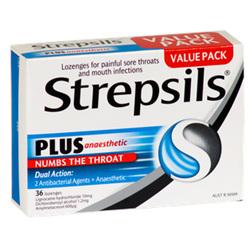 Strepsils Plus Lozenges (with Anaesthetic)